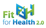 Logo fit for health 2 0