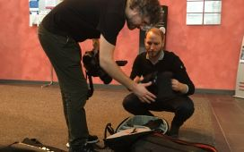 Eurice Took Care of Interview Filming Sessions With SysMedPD Partners