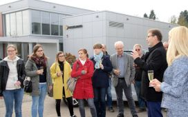 The currently around 30 staff members based in Saarbrücken are set to move into the new premises in summer 2018.