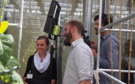 Filming at MPI Potsdam