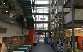 Inside the Life Science Building, University of Bristol