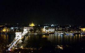 Stunning view over Budapest