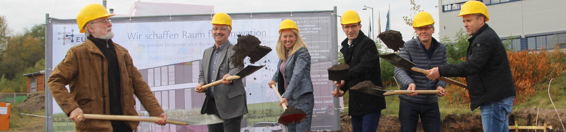 Making Room for the New: Groundbreaking Ceremony for Eurice's Future Head Office