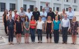 Evident final meeting group picture