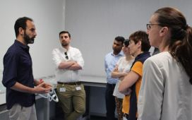 The Meeting Participants were shown around the IBI Labs