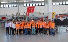 The IMPROVE Consortium in Front of the OCME Demonstrator