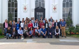 The TomGEM Team at the 3rd Progress Meeting in Old Windsor, May 2019