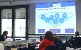 Eurice CEO Jörg Scherer representing the European IPR Helpdesk