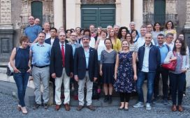BRESOV consortium at its Kick-off meeting in Catania.