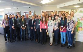 The DISCO Consortium at its 2nd Progress Meeting / Review Meeting in Brussels