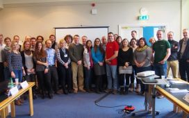 The EVIDENT consortium during its 2nd Progress Meeting in Oxford