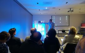 Demonstration of a Phototherapy Device at the Kick-off Meeting