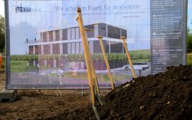 On an area of 800 square meters, a three-floor building will be constructed within the next months.