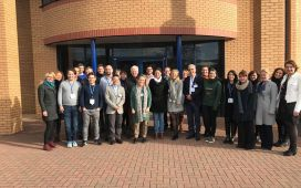 The B-SMART consortium at the 2nd Progress Meeting in Malvern, UK
