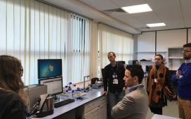 Impressions from the lab tour