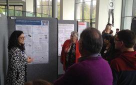 ESR poster presentation at the Advanced Training Centre at EMBL, Heidelberg, Germany